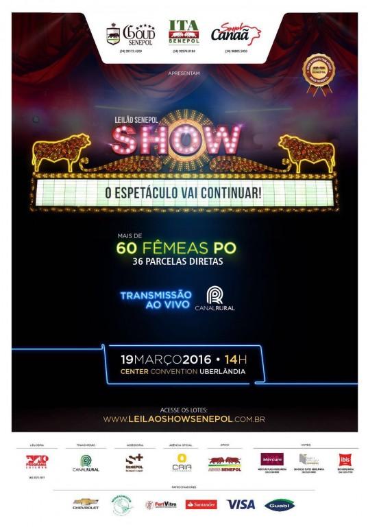 Leilão Show Senepol apresenta 60 Novilhas top em Uberlândia - MG