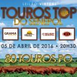 Seis marcas vendem 80 animais  no Leilão Touros Top Senepol