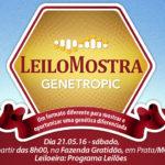 Genetropic Senepol apresenta o  seu inovador LeiloMostra em maio