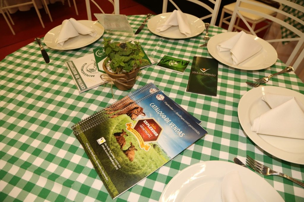 Recepção do Leilão Esplendor com catálogo cheio de informações. (Fotos: Fábio Fatori)