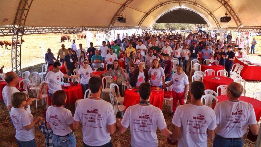 Boa presença de público deve se repetir no Dia de Campo Constelação da Fazenda Palmito, em Paranaiguara/GO. (Foto: Berrante Comunicação)