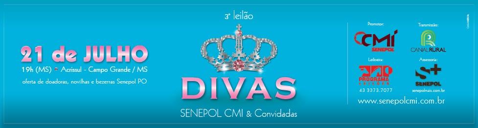 3º Leilão Divas Senepol CMI & Convidados