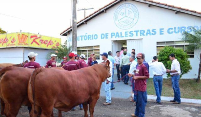 Senepol é atração mais uma vez no parque de exposições em Paranaíba/MS.