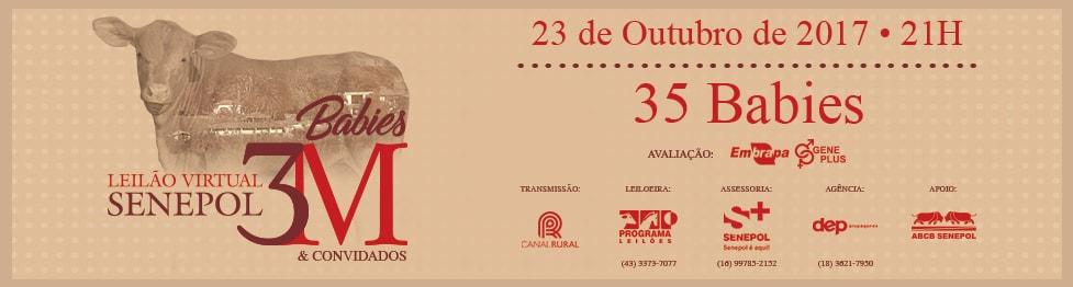 Leilão Virtual Senepol 3M e Convidados 2017