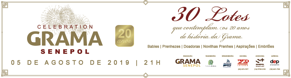 Leilão Celebration Grama Senepol 2019